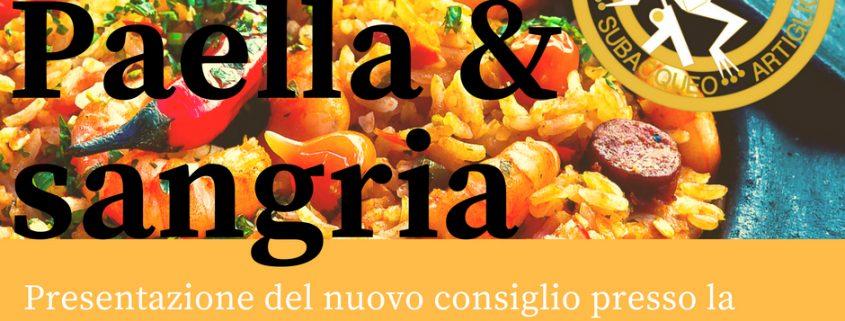 nuovo consiglio direttivo presentazione ufficiale a suon di paella e sangria